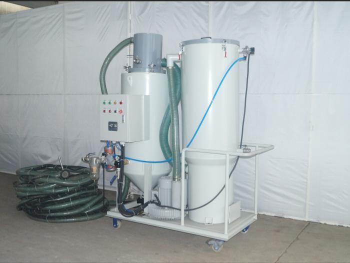 TS-300L-B型环保无尘回收式喷砂机