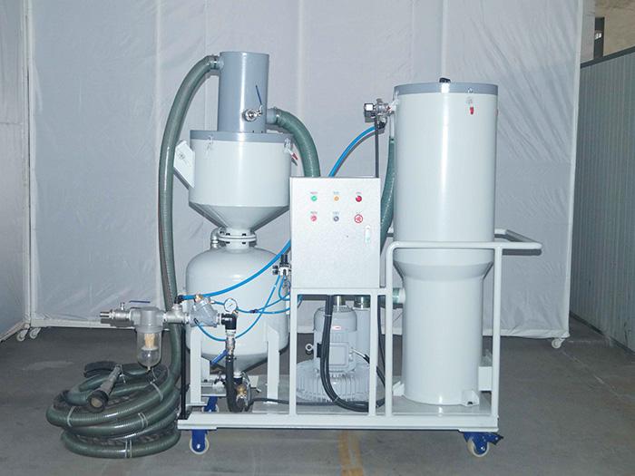 泰盛:浅析节能回收式喷砂机的结构