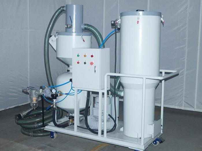 TS-150L环保无尘回收式喷砂机