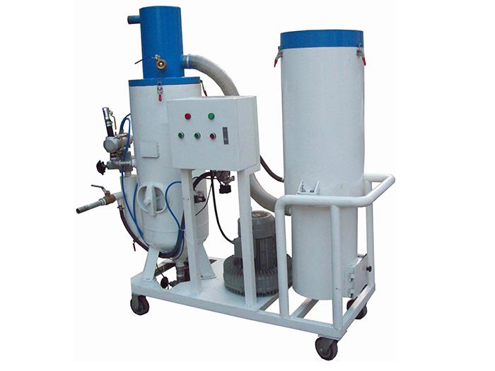泰盛:简析循环回收式喷砂机组成与特点